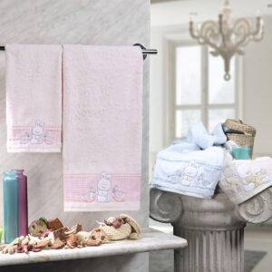 asciugamani flipper_vingi ricami
