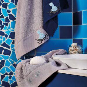 Asciugamani atlantis polpo
